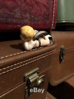 Limoges Porcelain Cherub Box French Baby Angel Figurine Collectible