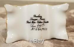 Limoges Sewing Machine Trinket Box Signed and Numbered New In Box