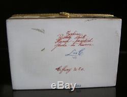 Limoges Tiffany & Co. Private Stock Zodiac Gold Le Tallec Trinket Dresser Box