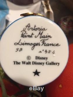 Limoges Trinket Box Disney Mrs Potts Beauty & And The Beast Limited -free Ship