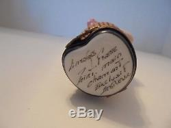 Limoges Trinket Box Pig Vintage