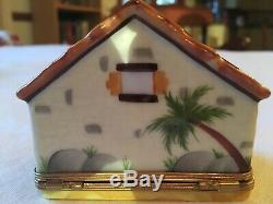 Limoges box Christmas nativity scene authentic