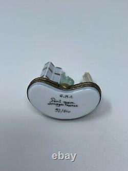 Limoges france porcelain New York trinket box