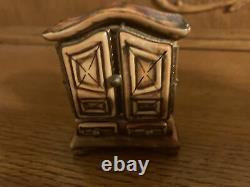 Limoges trinket box peint main rochard