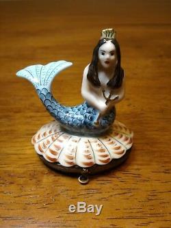 Mermaid Limoges Box Rochard France