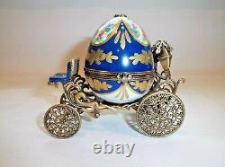 Peint Main Limoges Trinket- Limited Edition Enchanted Carriage