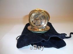 Peint Main Limoges Trinket-Monet Inspired Timepiece In A Compact