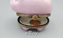 Piggy Bank Limoges Box
