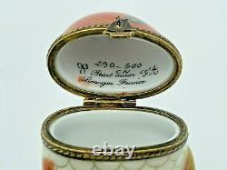 RARE Vtg Limoges FA Porcelain Trinket Box Fish Limited Edition #290/300 France