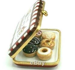 ROCHARD Donut Box Limoges Box