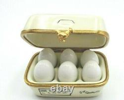 ROCHARD Egg Carton Limoges Box