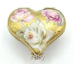 ROCHARD Key to my Heart Limoges Box (Retired)