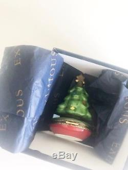 Rare LIMOGE CHRISTMAS TREE - IN BOX in perfect condition