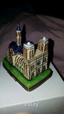 Rare Sinclair Limoges France Notre Dame Peint a la main Ltd Ed. 2000 No. 21/750