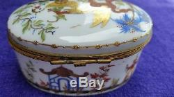 Rare Tiffany & Co Le Tallec Hand Painted Cirque Chinois Box Signed Private Stock