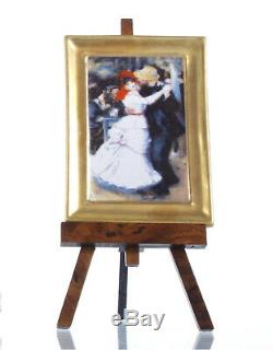 Renior Dance at Bougival Painting / Portrait Limoges Box RETIRED
