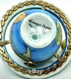 Rochard Limoges Box- Globe With Removable Moon