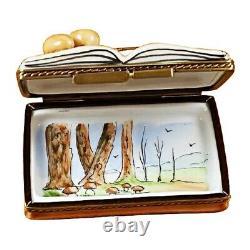 Rochard Limoges COOKBOOK Omelet Trinket Box