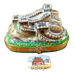 Rochard Limoges China Great Wall Trinket Box