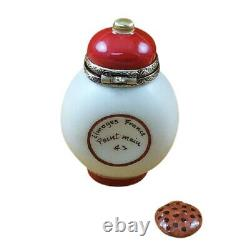 Rochard Limoges Cookie Time Jar with Cookie Trinket Box