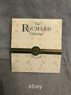 Rochard Limoges Hand-Painted Porcelain Nantucket Easel Wreath Trinket Box