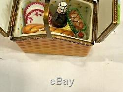 Rochard and Limoges-TWO Trinket Boxes. UNIQUE & RARE. Marks