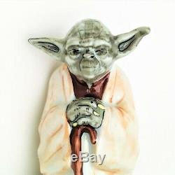 Star Wars' Master Yoda Limoges Box by Rochard Limited Edition RARE withbox & coa