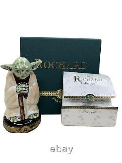 Star Wars Master Yoda The Rochard Collections Limoges RARE
