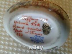 Tiffany Vintage Le Tallec Egg-shaped Trinket Box