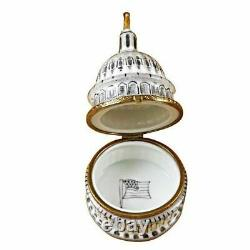 U. S Capital Dome Limoges Box