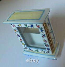 Unique & RareLimoges France Trinket BoxChild Toy CabinetPeint MainSO CUTE