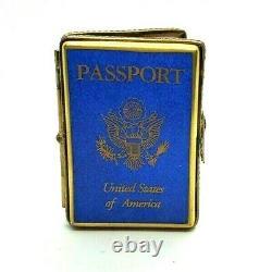 United States Passport Limoges box