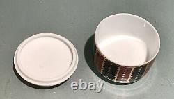 Vintage Antique Unused Tiffany France Limoges Porcelain Trinket Jewelry Box Old