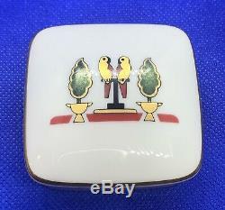 Vintage La Maison De Cartier Cartier Limoges 1986 Porcelain Trinket Box