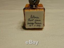 Vintage Planters Mr. Peanut Limoges France Artoria Peint Main Pill Box