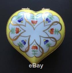 Vintage Tiffany Private Stock. Large Le Tallec Limoges Box. Unused