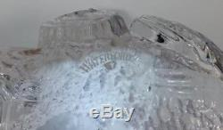 Waterford Crystal WS Legends and Lore Phoenix Eagle Figurine Signed 2000